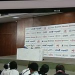 Image for the Tweet beginning: 羽生結弦 選手の記者会見 見ることが出来て有難いです🌟🌟🌟 ミヤギテレビ 📺ありがとう👏