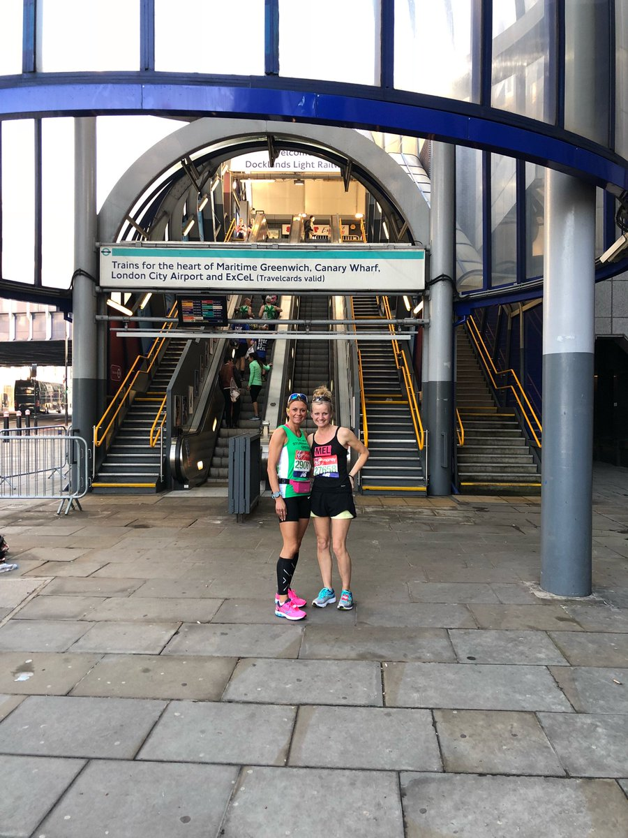 #LondonMarathon18 good luck ladies you w...