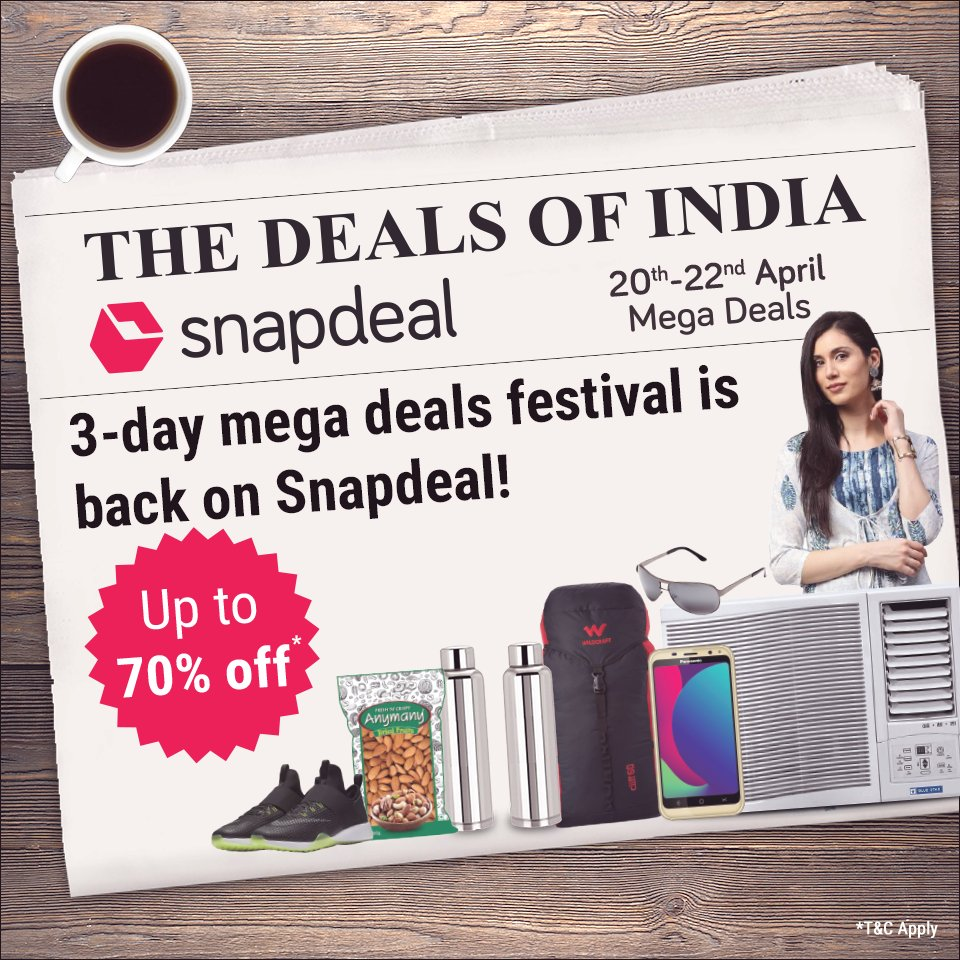 1f4a9e0d074 Best deals from  DealsOfIndia on Snapdeal  Last day today! Hurry!