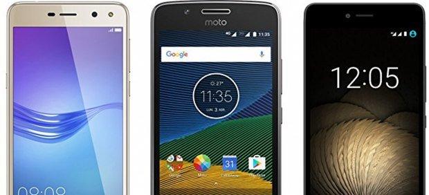 Seis buenos móviles que puedes encontrar...