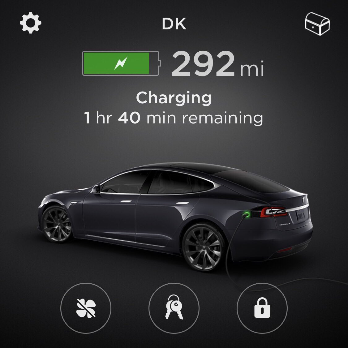 The Tesla app is back online. We apologize for any inconvenience