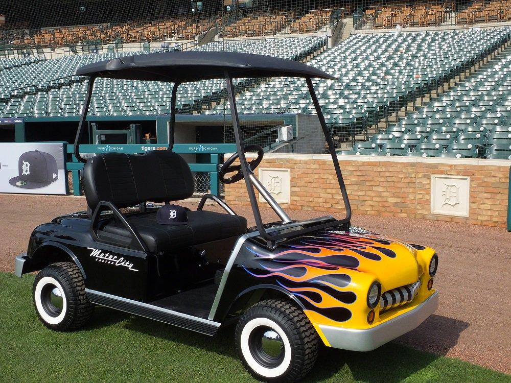 Crain S Detroit Business On Twitter Warren Custom Golf Cart Maker Crafts Tigers Bullpen Cars Https T Co 2fgg6o3qss