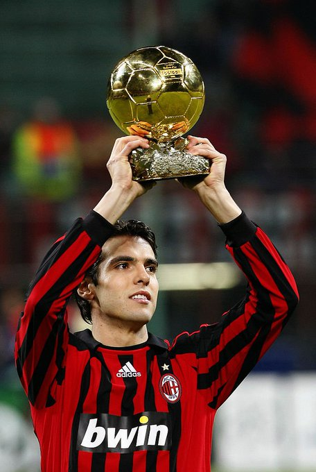 Happy birthday to Kaka, the last man to win a Balon D\Or who is not or Messi.