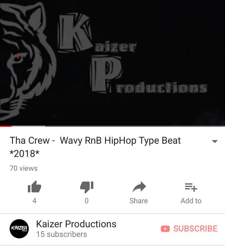 https:// youtu.be/kpOGTSbq_xA  &nbsp;   New beat at 80 #music #musician #musicians #musicproducer #musicvideo #musicman #musicismylife #musicianlife #followme #follow #kaizer #beats #songs #RnB #hiphop #trap #grime #studio #youtube #soundcloud #applemusic #spotify  #rappers #artists #singers <br>http://pic.twitter.com/Rai0MncAIn