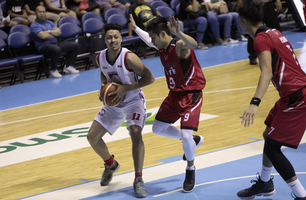Sports Desk On Twitter Pba Columbian Dyip 1 0 Routs Blackwater Elite 126 98 To Open 2018 Commissioner S Cup Jerramy King And Rashawn Mccarthy