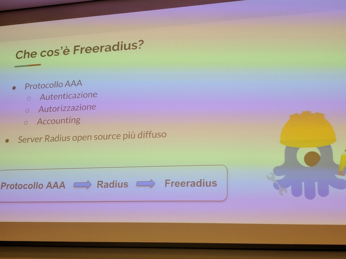 Etiqueta #freeradius al Twitter