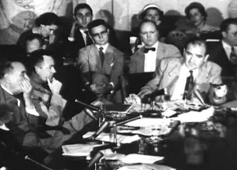 Morning, Twitter. #OTD in 1954, the publicly televised sessions of the Senate Army-McCarthy hearings began.