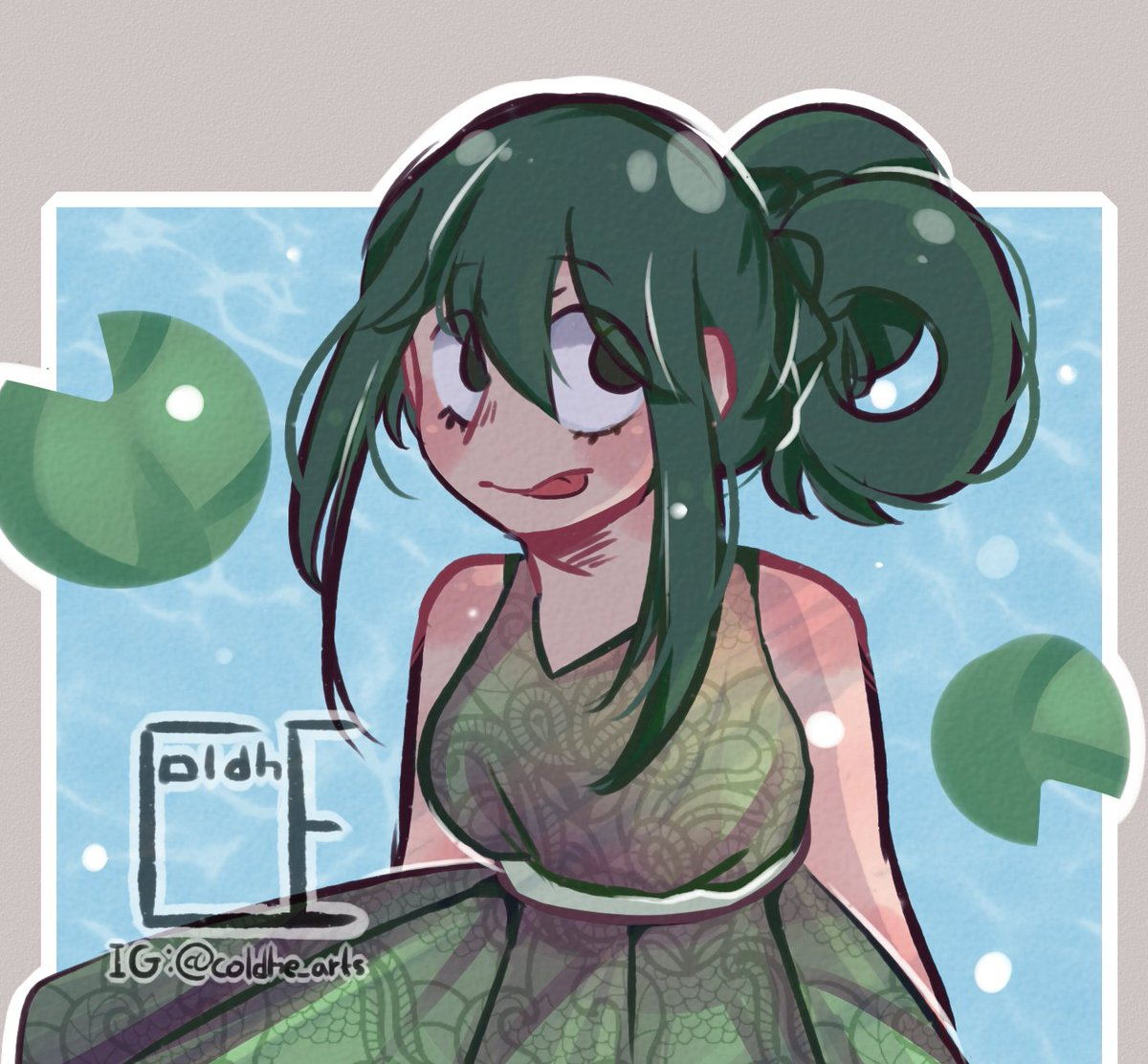 Coldhe On Twitter Froppy Doodle Bnha Froppy