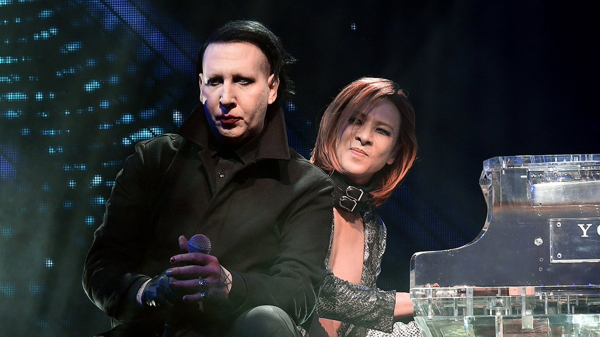 See Marilyn Manson's stripped-down performance of 'Sweet Dreams' with X Japan at Coachella last night https://t.co/8OZmSPIc9v