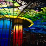 """Kaohsiung MRT Formosa Boulevard Station is a metro station located in Sinsing District. The station is known for its """"Dome of Light"""". The glass panels add beauty to the station. They also add a new dimension to the art life of Kaohsiung and create a new scenic spot in the city."""