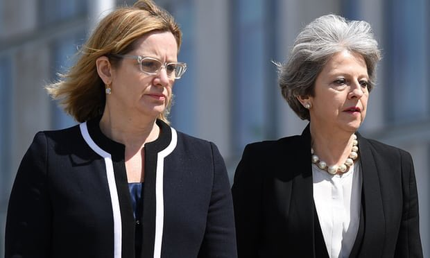 These two have picked on the #Windrushgeneration instead of deporting #islamicterrorists both of these women are #Pro-EU &amp; weak on #Islam<br>http://pic.twitter.com/DSiThqUuV7
