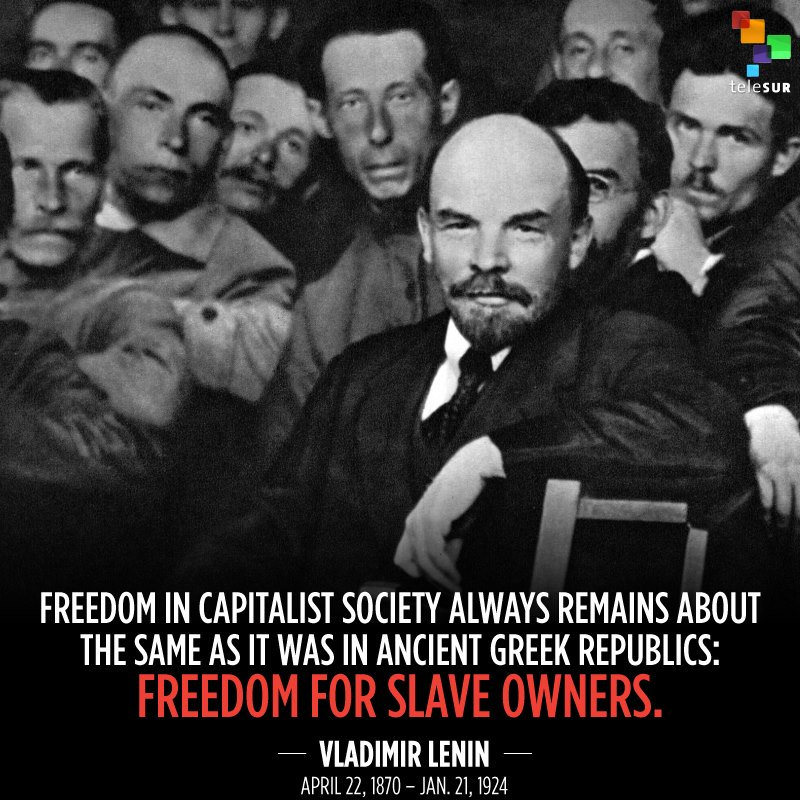 Happy 148th birthday to one of the most influential revolutionaries in history, Vladimir Ilyich Lenin! Leader of the Russian Revolution of 1917, Lenin changed the course of history, inspiring the oppressed and exploited everywhere to believe that another world is possible.
