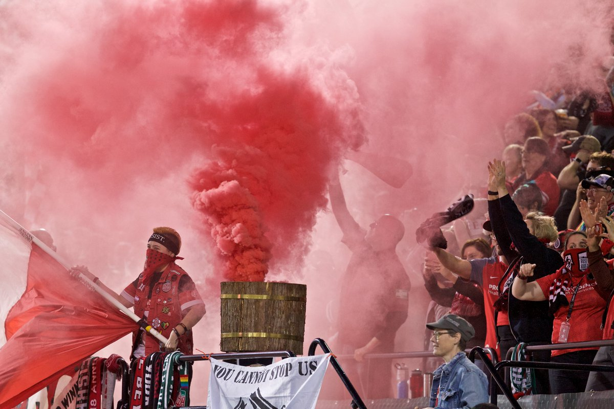 Already missing that red smoke. #BAONPDX...