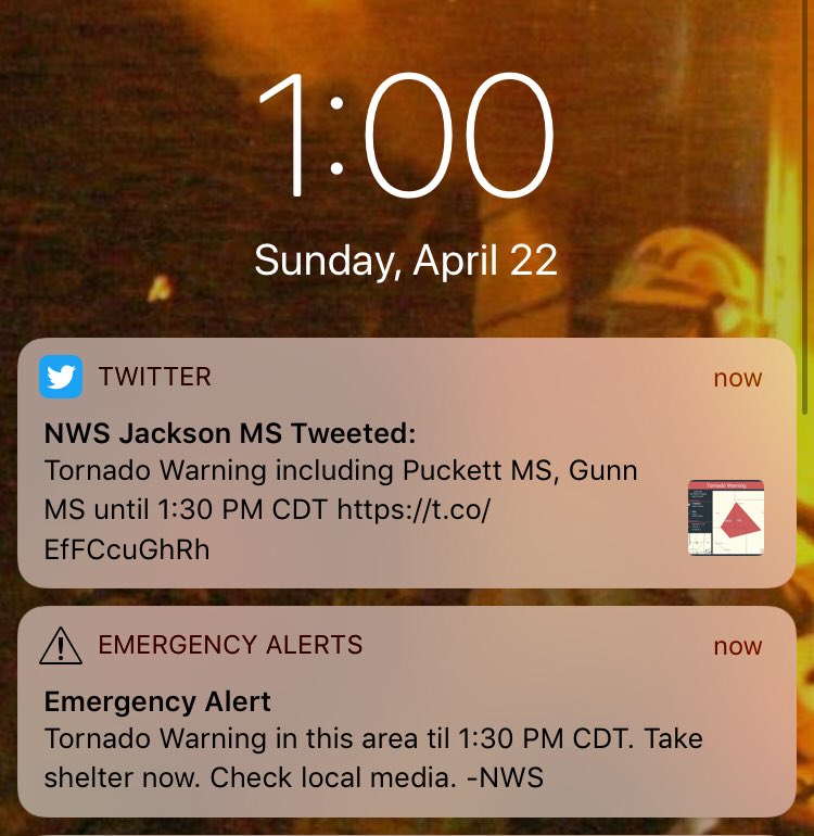 Hey folks, the weather is starting to get unruly again. Watch your local media and be ready to take cover.