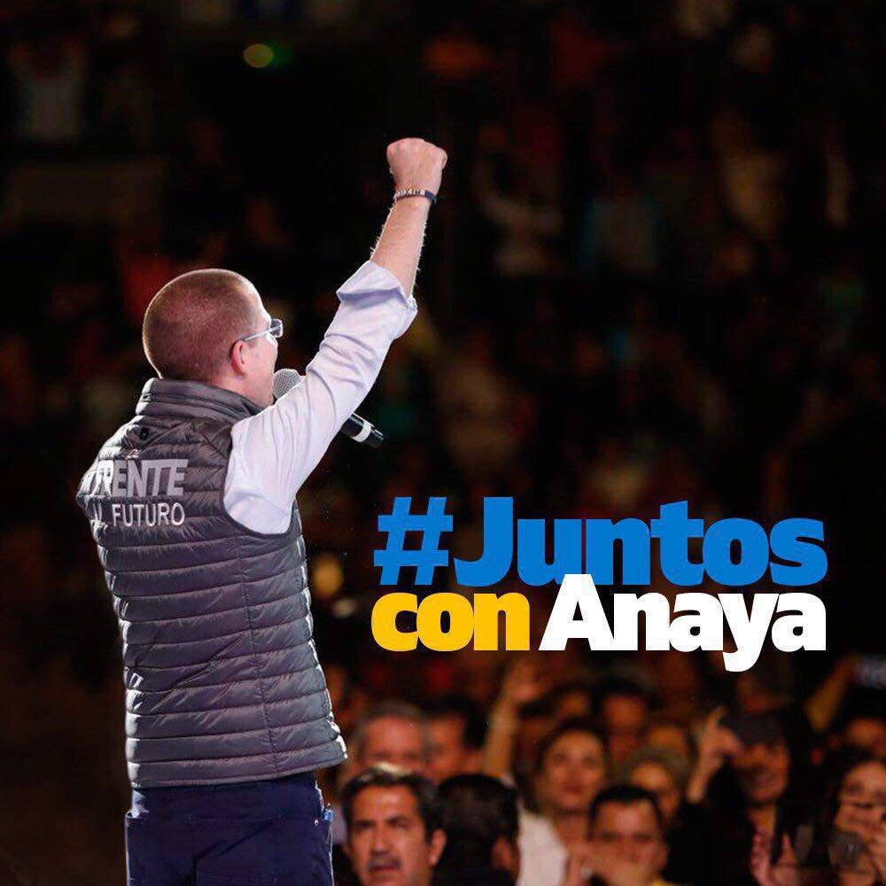 Vamos #JuntosConAnaya para que haya opor...