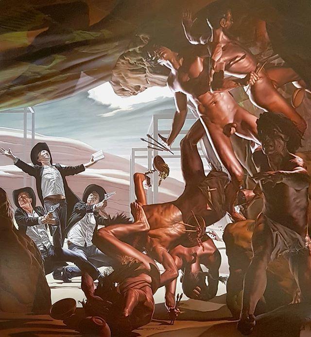 #NicolaVerlato #TheCave #OilOnCavas #painting #DeProspectivaPingendi #Todi #figurativepainting https://t.co/wmD3PNDc0C