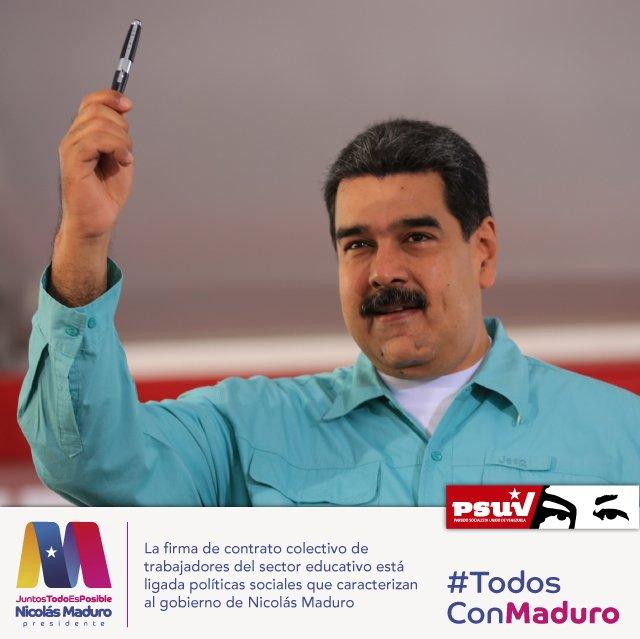 Nicolás maduro representa una política internacional que