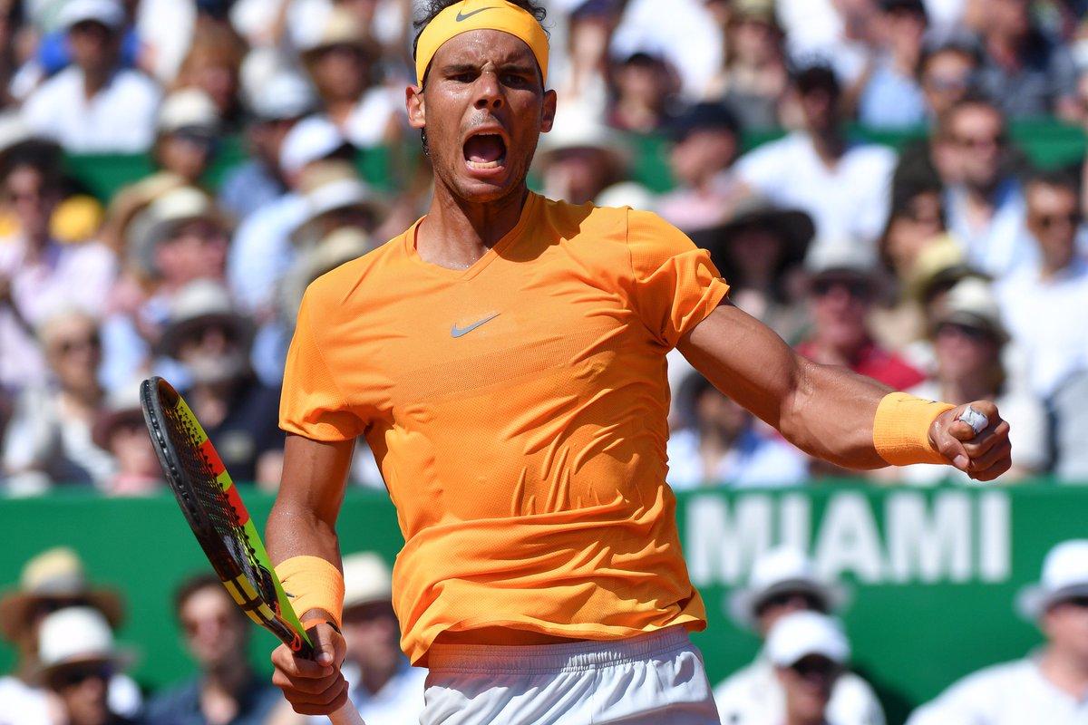 test Twitter Media - #Tennis 🎾  Rafael #Nadal 🇪🇸 toujours maître sur le Rocher 🏆 !  Le n°1 mondial a battu en 2 sets Kei #Nishikori 🇯🇵 6/3 6/2 en 1h33 au #RolexMCMasters 🇲🇨.  1⃣1⃣ème sacre sur la terre battue monégasque & 3⃣1⃣ème #Masters1000 (record) ! https://t.co/qa9hogt0OY