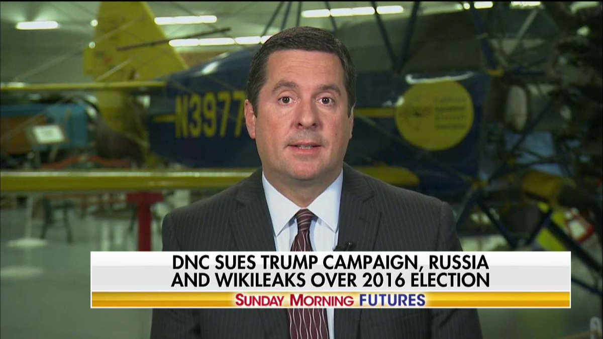 .@DevinNunes: 'Whatever the left accuses you of doing, they're doing themselves.' #SundayFutures @MariaBartiromo
