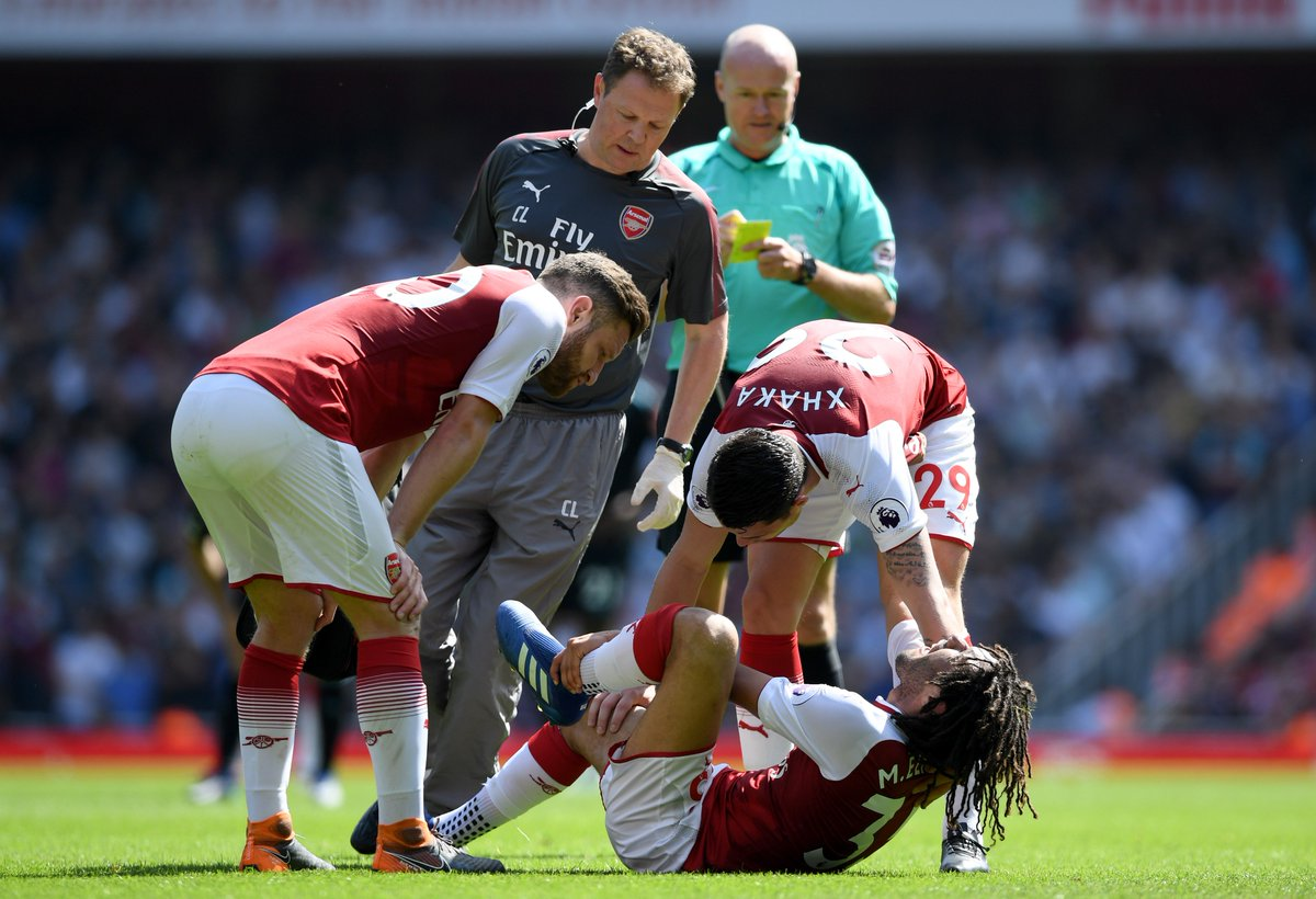 Picture: What Mohamed Elneny has posted after worrying news from Sunday