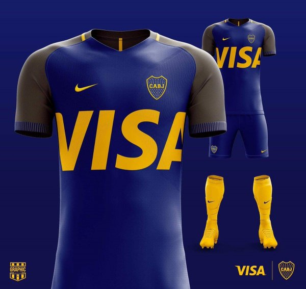 4ca3f3e379 Um Designer cria ideias de camisas de times em harmonia com símbolos de  grandes empresas. Tá lá no Guia do Boleiro. ...