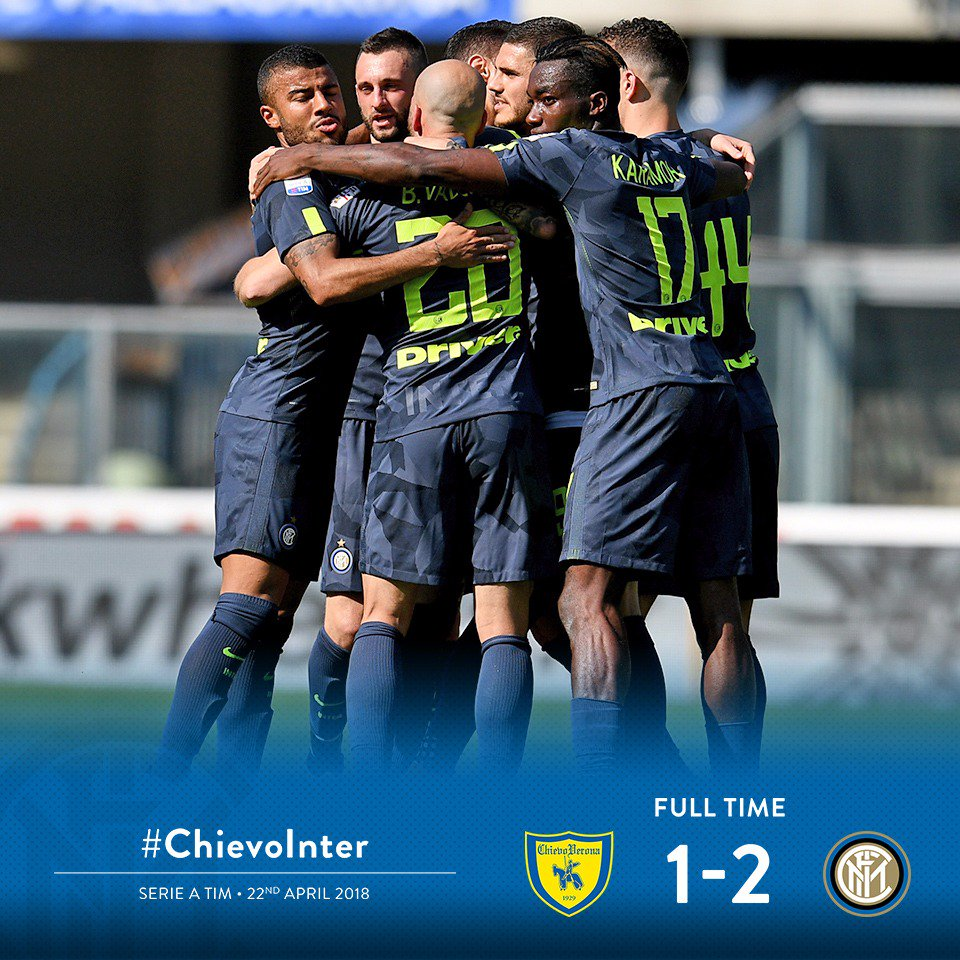 Inter's photo on #ChievoInter