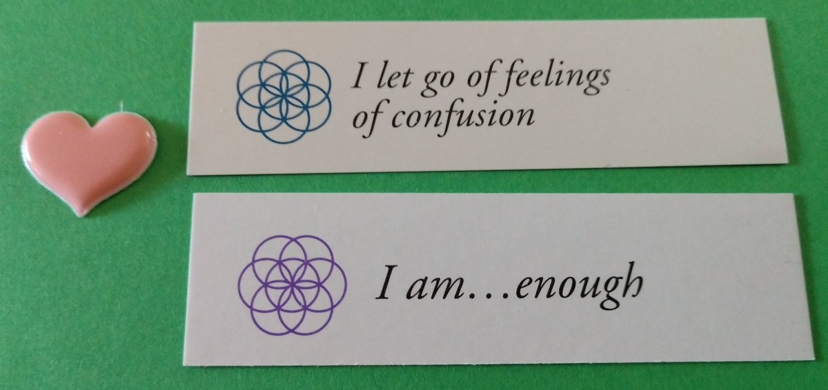 test Twitter Media - Today's Positive Thoughts: I let go of feelings of confusion and I am...enough. Randomly selected from my #inspirational card sets. #affirmation https://t.co/JasvAM4vCm