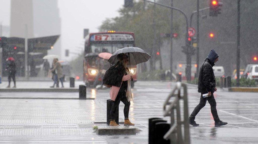 #Clima | #AlertaMeteorológico por lluvias y tormentas intensas afecta a nuestra provincia