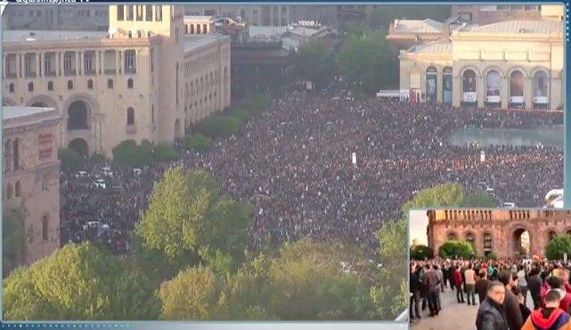 ЕС призвал власти Армении освободить всех задержанных в Ереване и начать политический диалог - Цензор.НЕТ 3731