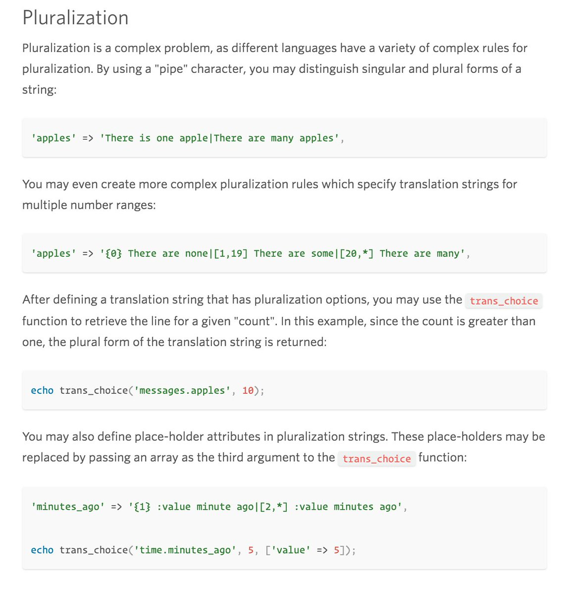 Laravel snippets - Tweetsnippet