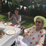 Two of my lovely ladies enjoying our care home open day https://t.co/i8zA6Ou5Nq ❤️😎