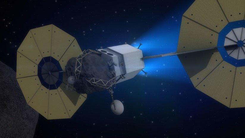 La minería espacial podría producir el p...