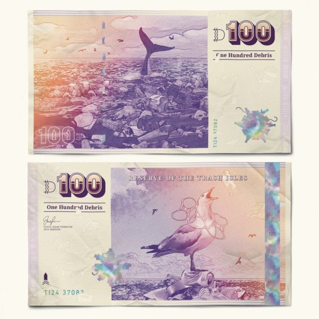 🌎 A pile of trash in the ocean has grown to the size of three Frances—and some people want it recognized as a nation. This is what its currency would look like. #EarthDay https://t.co/CVr3ksOha4