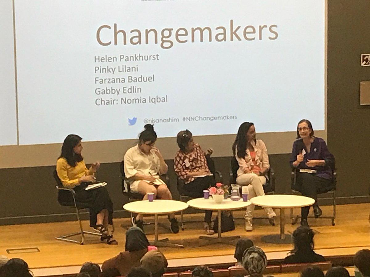 Women #changemakers all owe at least some of their success to the kindness of other women. @HelenPankhurst @bloodygood__   @pinkylilani @CurzonPR @NomiaIqbal .  @nisanashim<br>http://pic.twitter.com/gP7asE3Hkv