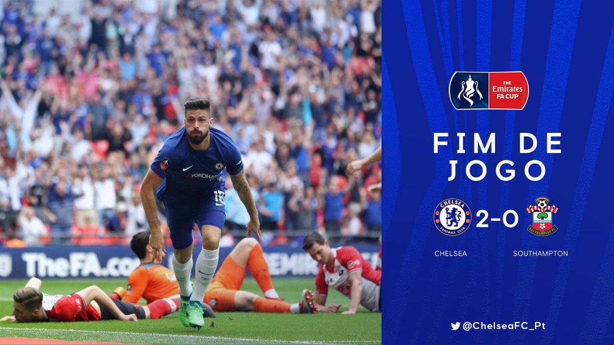ESTAMOS NA FINAL DA FA CUP! #CFCpt https...