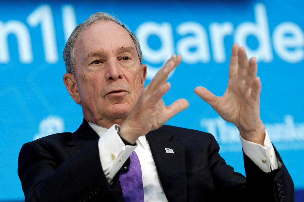Michael Bloomberg to write $4.5 million check for Paris climate pact https://t.co/k7uBNGCIQL