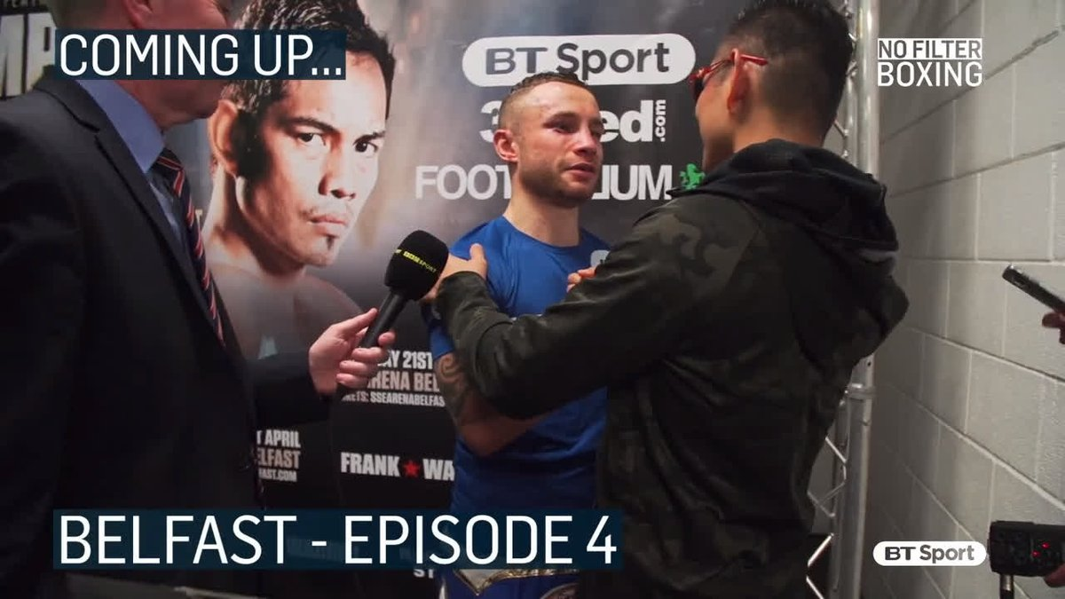 A great look behind the scenes of last night's sold out Belfast show from @BTSportBoxing , give it a watch!