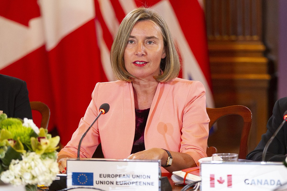 'Canada and the European Union are pleased to announce that we will co-host a meeting in Canada this September where all women foreign ministers will be invited.' Read @FedericaMog and @cafreeland's joint statement from today's @g7 outreach session👇https://t.co/IbqQj3og0a