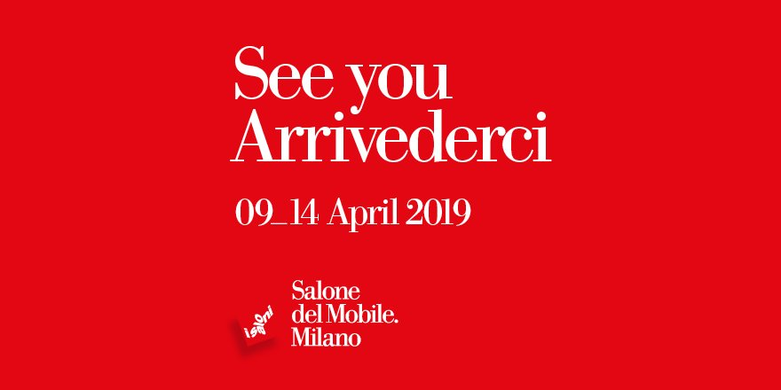 Salone del Mobile (@iSaloniofficial) | Twitter