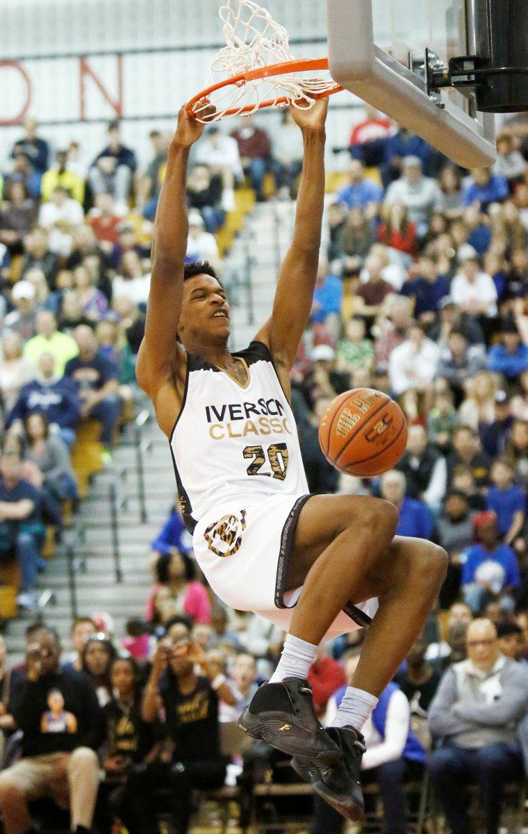 Allen Iverson Son Basketball