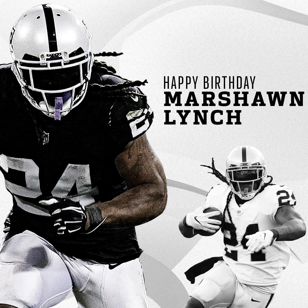 BEASTMODE BIRTHDAY.  Happy 32nd Birthday to @MoneyLynch! �� https://t.co/7GNvOUaUUD