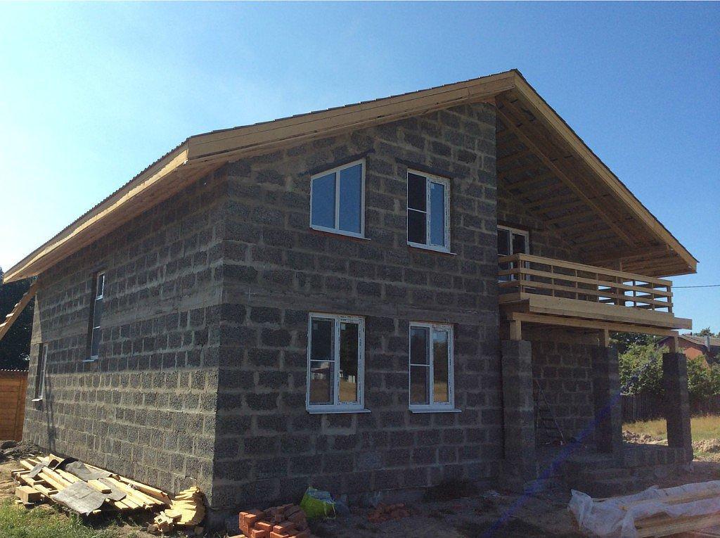 арболитовые блоки строительство домов