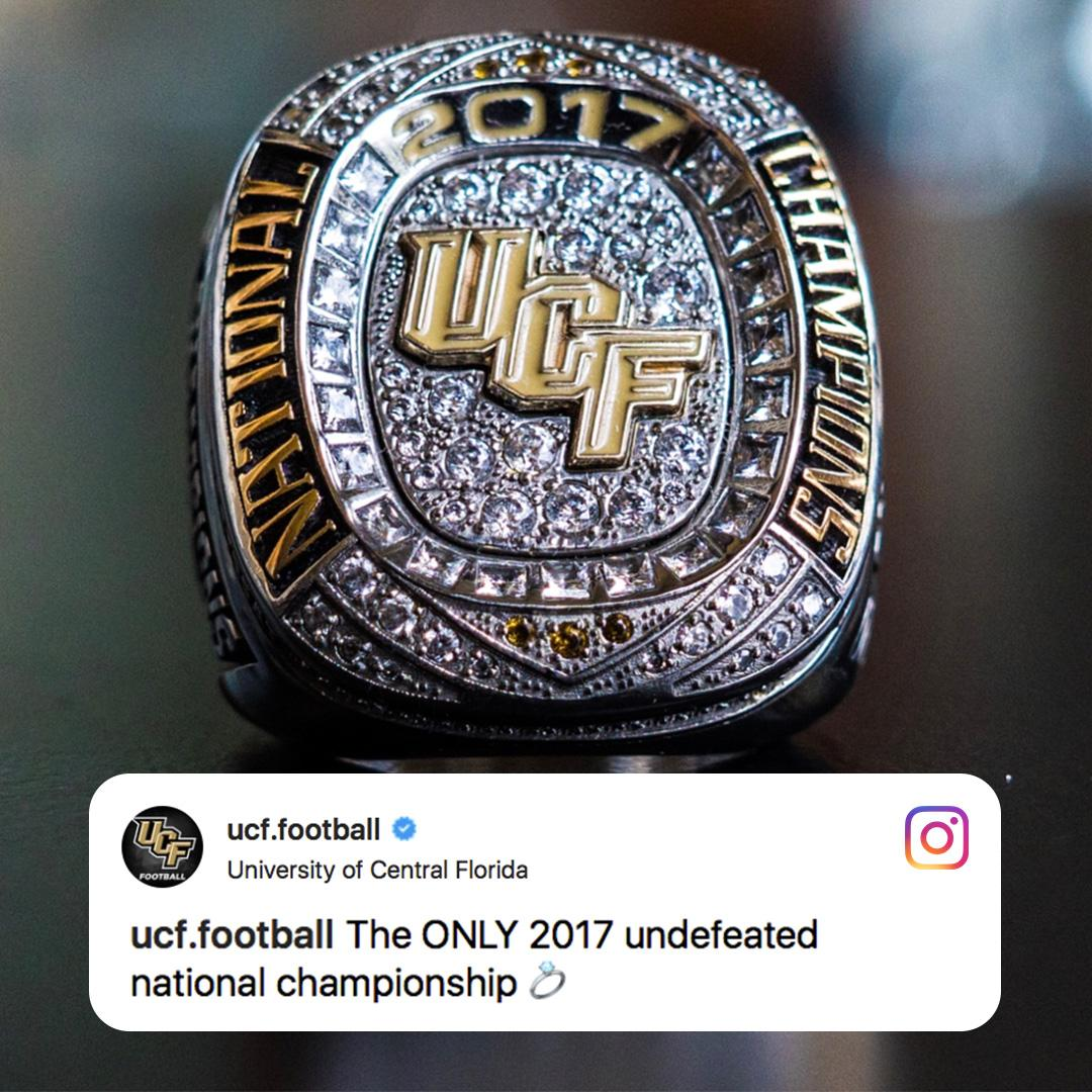 UCF stays winning 😂 (via @UCF_Football)