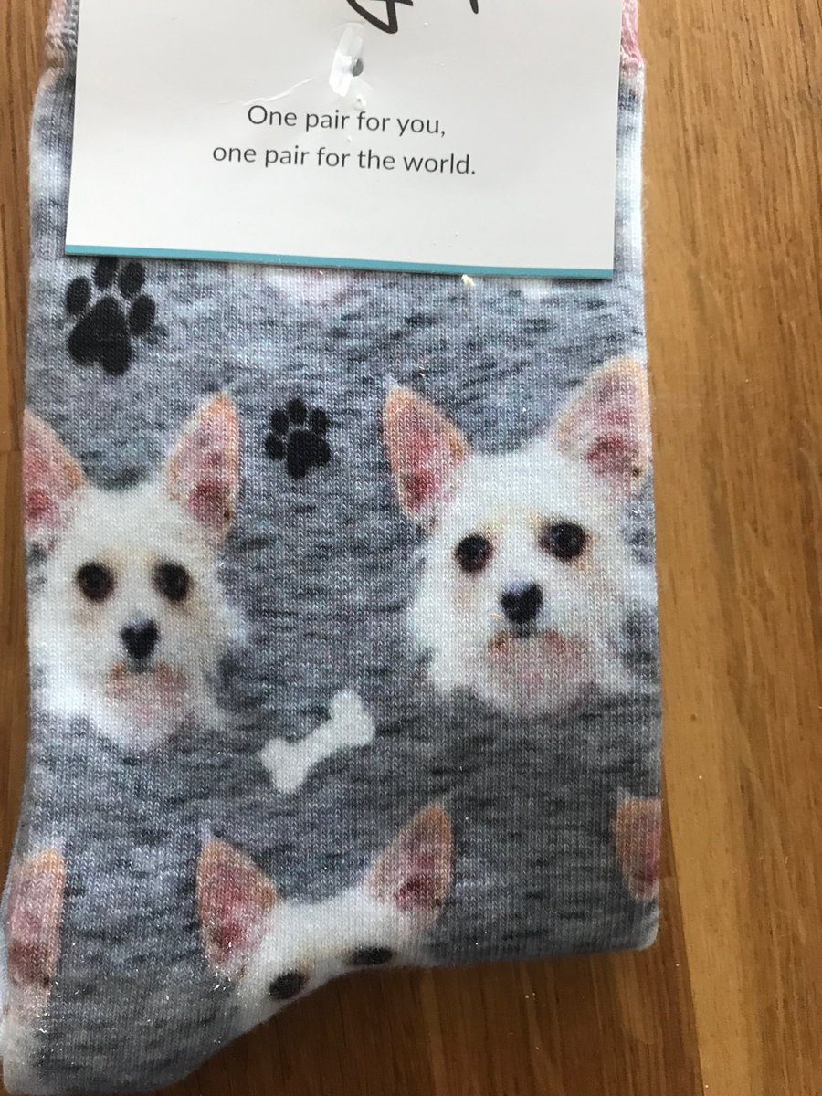 I Dont Brag About My Great Gift Ideas But Got Moms Dog Printed On Socks For Her Birthday And Im VERY Proud Of Thispictwitter 5qDPEdOj4e