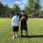 Great working with Alexander Saunier today from Lafayette High School. This kid is a stud! Thanks for allowing me to work with him @MichaelSaunier. #GunslingerTrained #SouthPawSlanger @xan_saunier