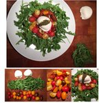 Image for the Tweet beginning: Burrata, Cherry Tomato and Arugula