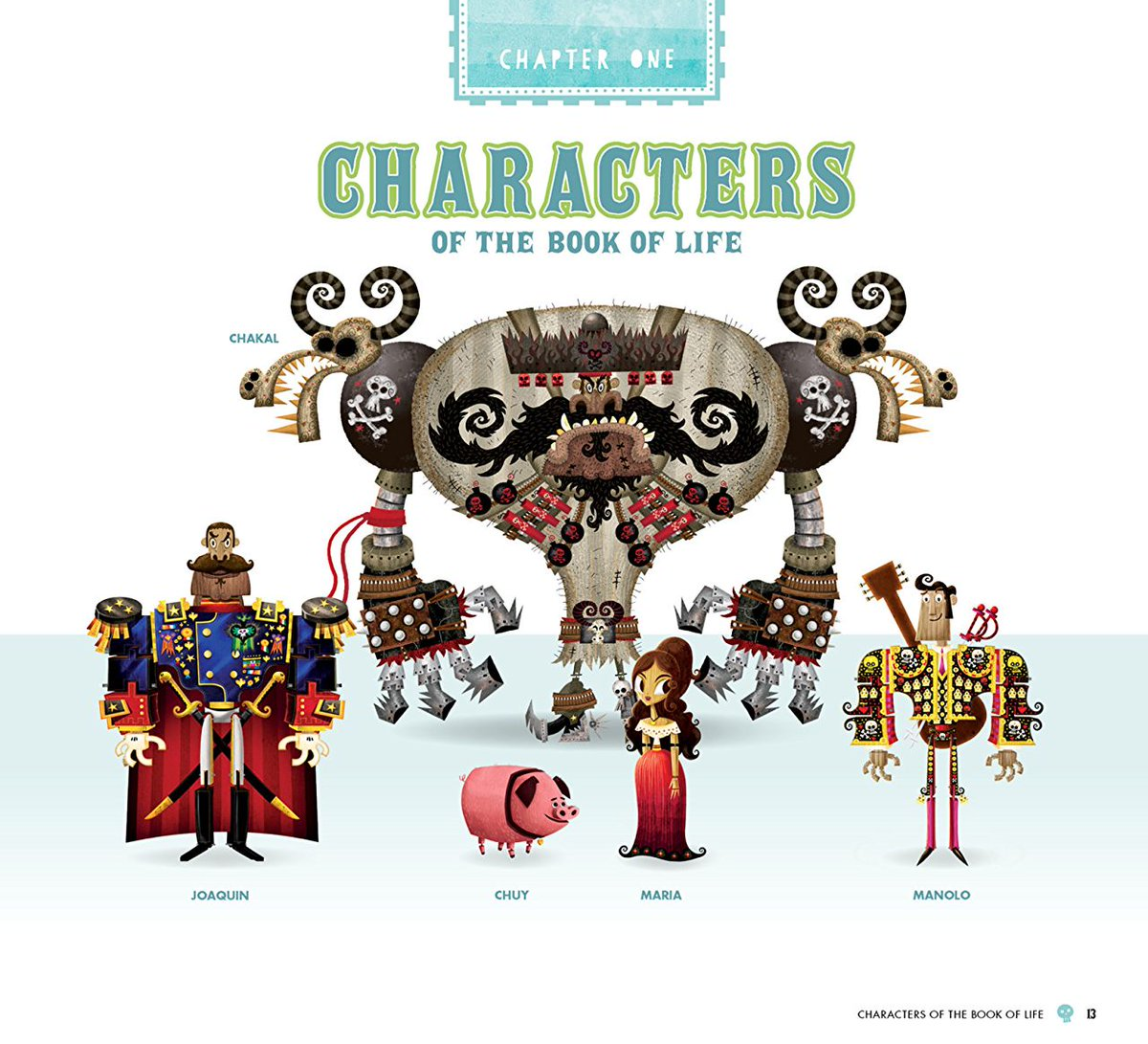 Chuy Book Of Life Toy