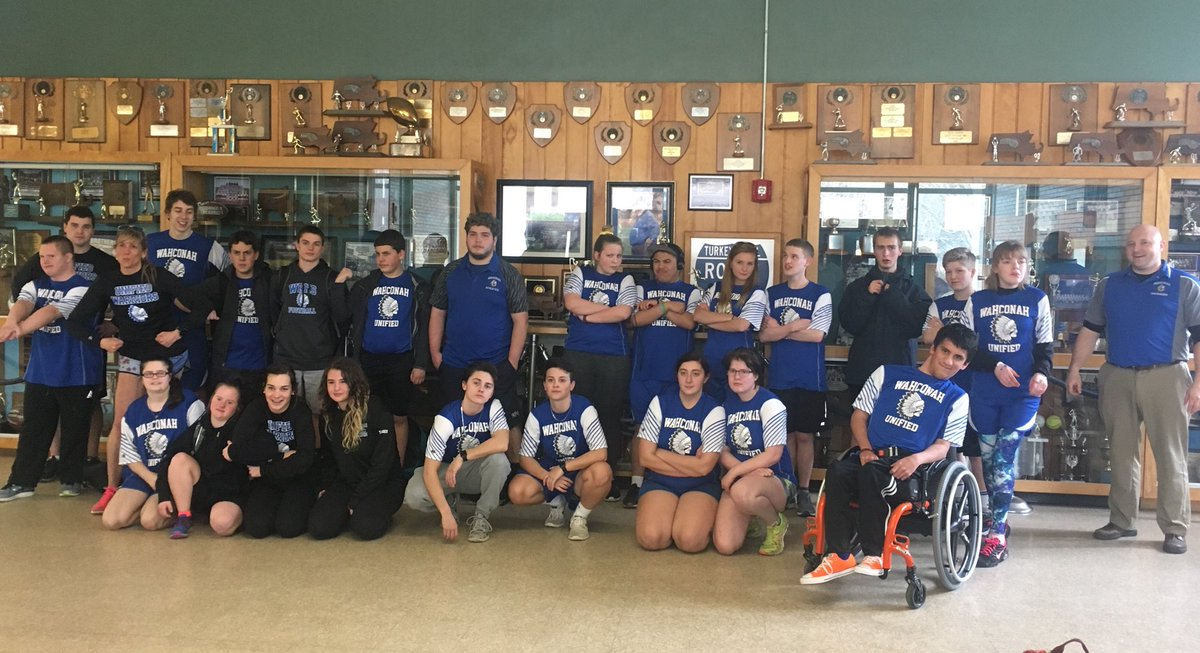 Unified Track meet Thursday at 4:00@ Wahconah. Don't miss the chance to see these athletes! #GoBlue #ChooseToInclude #unifiedtrack<br>http://pic.twitter.com/iSUM4zZdGA