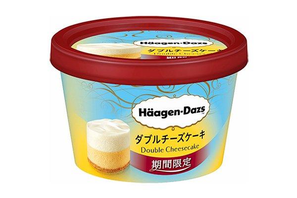 [明日発売] ハーゲンダッツ期間限定ミニカップ「ダブルチーズケーキ」リッチなベイ...