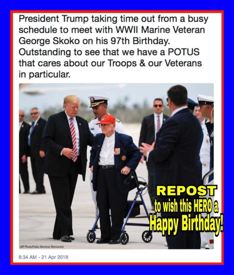 @POTUS and @FLOTUS  We love you for your tender care of our USA Military!!! @realDonaldTrump  @DonaldJTrumpJr  @EricTrump  @IvankaTrump & Tiffany Trump